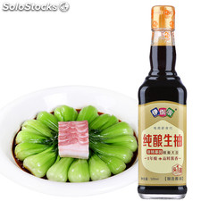 fermented Non-GMO soy sauce