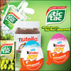 Ferrero Tic Tac , Ferrero Kinder joy , Cavendish & Harvey Fruit , Ferrero Rocher