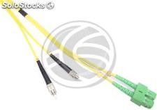Fiber Optic Cable FC/PC to SC/APC duplex singlemode 9/125 of 1 m (FK22)