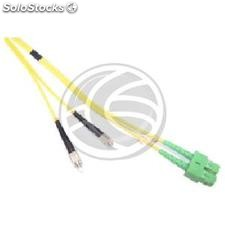 Fiber Optic Cable FC/PC to SC/APC duplex singlemode 9/125 of 50 cm (FK21)