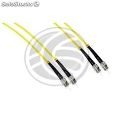 Fiber Optic Cable FC to FC Singlemode Duplex 9/125 of 1 m (FD01)