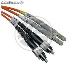 Fiber Optic Cable FC to LC duplex multimode 62.5/125 3 m (FJ43)