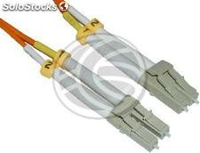 Fiber Optic Cable LC to LC duplex multimode 62.5/125 2-m (FI02)