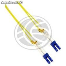 Fiber Optic Cable LC to LC duplex singlemode 9/125 of 15 m (FD67)