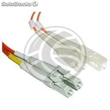 Fiber Optic Cable LC to SC duplex multimode 62.5/125 15 m (FI37)