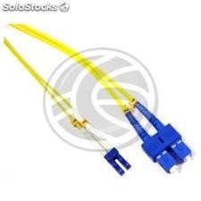 Fiber Optic Cable LC to SC duplex singlemode 9/125 of 1 m (FD41)