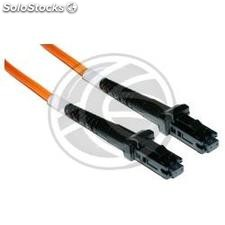 Fiber Optic Cable mtrj to mtrj 62.5/125 Multimode Duplex 15 meter (FO37)