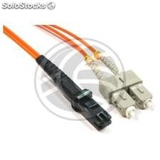 Fiber Optic Cable MTRJ to SC 62.5/125 Multimode Duplex 5 meter (FO44)