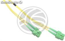 Fiber Optic Cable SC/APC to SC/APC duplex singlemode 9/125 of 50 cm (FK31)