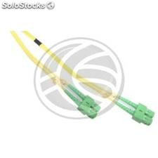 Fiber Optic Cable sc/apc to sc/apc duplex singlemode 9/125 to 3 m (FK34)