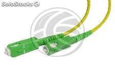 Fiber Optic Cable SC/APC to SC/APC simplex singlemode 9/125 to 3 m (FL34)