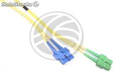 Fiber Optic Cable SC/PC to SC/APC duplex singlemode 9/125 of 1 m (FK12)