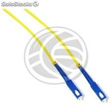 Fiber Optic Cable SC to SC simplex singlemode 9/125 of 1 m (FF61)