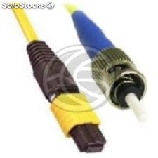 Fiber Optic Cable st/apc to st/apc duplex singlemode 9/125 to 3 m (FK54)