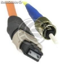 Fiber Optic Cable ST/APC to ST/APC simplex singlemode 9/125 to 3 m (FL54)