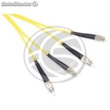 Fiber Optic Cable st/pc to st/apc duplex singlemode 9/125 5 m (FK45)