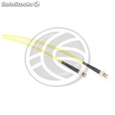 Fiber Optic Cable ST/PC to ST/APC simplex singlemode 9/125 of 10 m (FL46)