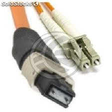 Fiber Optic Cable ST/PC to ST/APC simplex singlemode 9/125 to 3 m (FL44)