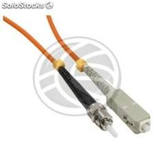 Fiber Optic Cable ST to SC 62.5/125 Multimode Simplex 5 meter (FO24)