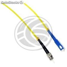 Fiber Optic Cable ST to SC simplex singlemode 9/125 of 25 m (FF89)