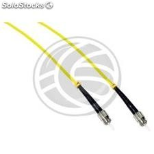 Fiber Optic Cable ST to ST simplex singlemode 9/125 of 10 m (FF76)