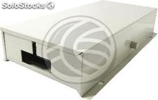 Fiber optic distribution box beige metallic type 3 24-FO (FQ63)