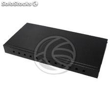 Fiber Optic Patch Panel 1U black 12 FC (FQ03-0003)
