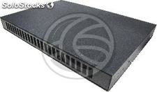 Fiber Optic Patch Panel 1U for 24 SC removable black duplex (FQ23)