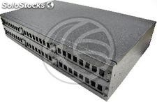 Fiber optic patch panel black 2U 48-SC (FQ07)