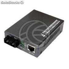 Fiber optic single-mode Converter 100 Mbps 20Km SC to RJ45 (UF02-0002)