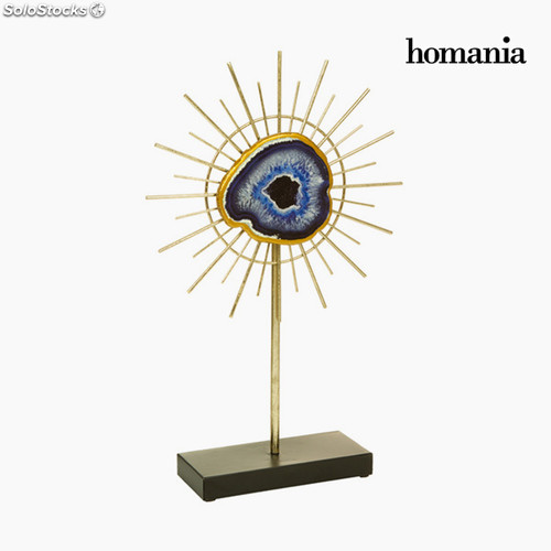 Figura Decorativa Mineral Oro by Homania