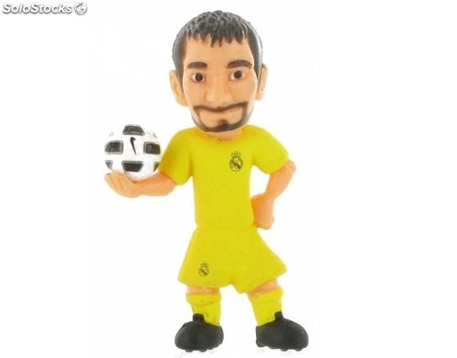 Figura del Real Madrid Casillas 6cm Comansi Toons