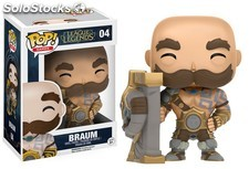 Figura Funko Pop Braum League Of Legends