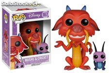 Figura Funko Pop Mushu y Cricket