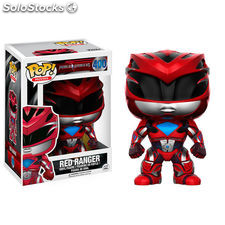 Figura Funko Red Ranger Pop