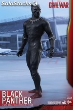 Figura hottoys black panther 33 cm PLL02-FHOT902701