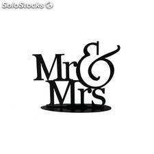 Figura pastel Mr & Mrs