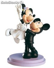 Figura pastel novios mickey&minnie just married!