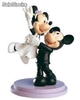Figura Pastel Novios Mickey&Minnie Just Married