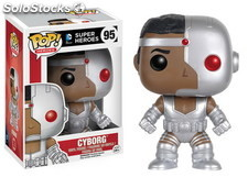 Figura pop dc comics: cyborg