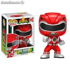 Figura POP Funko Power Rangers Rojo
