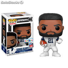 Figura POP NFL National Football LeagueEzekiel Elliott Color Rush Exclusive