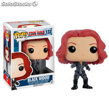 Figura POP Vinyl Bobble Head Civil War Viuda Negra
