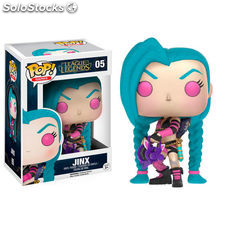 Figura POP! Vinyl League of Legends Jinx