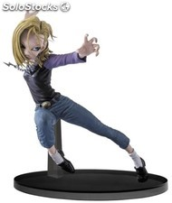 Figuras banpresto dragon ball android n º18 15 cm PLL02-FBP34317