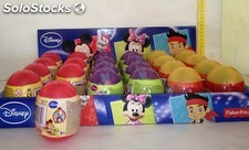 Figuras Disney en huevo Fisher Price