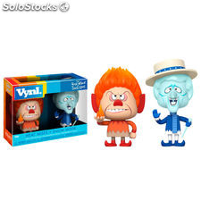 Figuras Vynl The Year Without Santa Claus Heat Miser & Snow Miser
