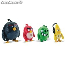 Figurines d'action angry bird