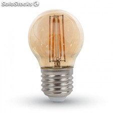 "Filamento de led gold vintage ""Long Filament"" Bombilla 4W G125 2200K"