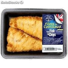Filet cab fish and chips 220G